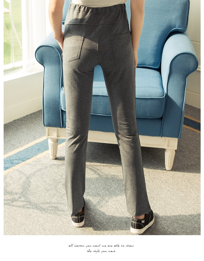 pregnancy suspender trousers