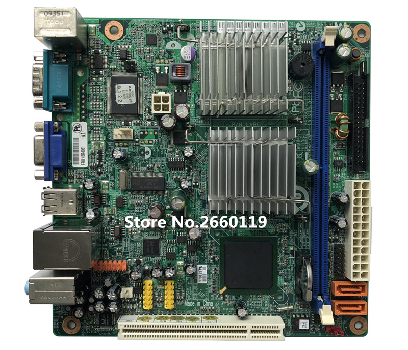 Desktop mainboard for A57E L-I945GC 46R4061 17X17 ITX motherboard Fully tested цена
