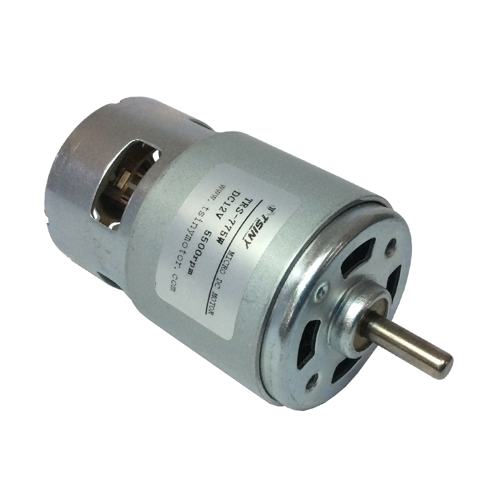 775 12v Dc 5500rpm Brush Motor Micro Carbon Brush Motor Dc