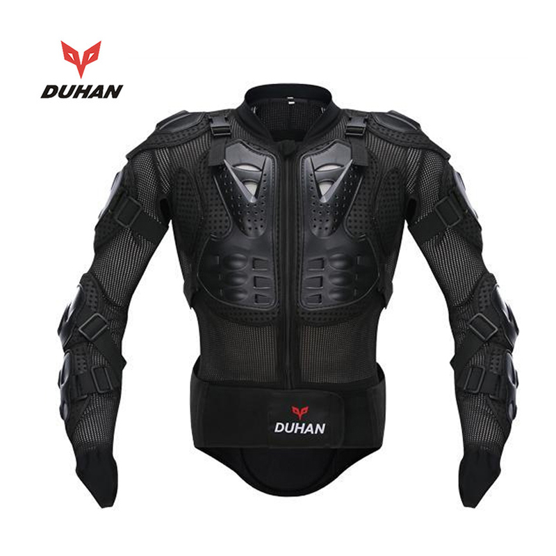 DUHAN Motorcycle Full body armor Jacket Armor Spine Chest Protective Jacket Motocross Clothing Racing back Protection