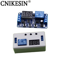 CNIKESIN High Quality 1 Way 12V Relay Module With Shell Adjustable Trigger Delay Cycle Timing Pull