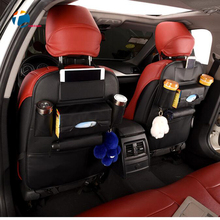 Taitian Stowing Tidying Bag Car Seat Back Bags Trunk Organizer Travel Storage Pocket Universal Auto Organizer Palm in Car Style