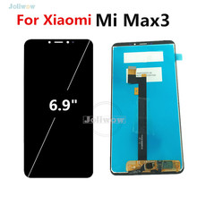 For Xiaomi Mi Max 3 LCD Display with Touch Screen Digitizer Assembly Replacement MAX3 For Xiaomi max 3 LCD Screen недорго, оригинальная цена