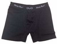 Free Shipping Men S Midweight Underwear Wholesale Hot Sale Male Black Boxers 100 Merino Wool Panties