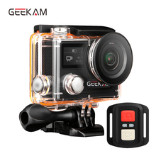 GEEKAM Ultra HD Waterproof 4K Video Action Camera 170 degrees 2.0 dual screen 1080p 60fps WiFi Action Sport camera H8RS