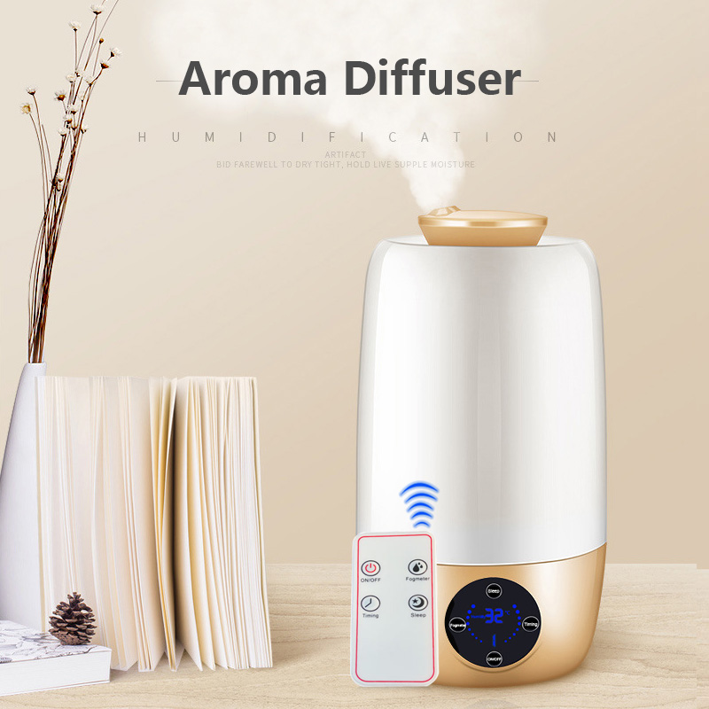 Ultrasonic Aromatherapy Diffusergrain Ultrasonic Cool Mist Humidifier For Office Home Bedroom Living Room