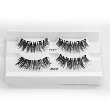 Genailish Magnetic eyelashes with 4 magnets handmade 3D/6D magnetic
