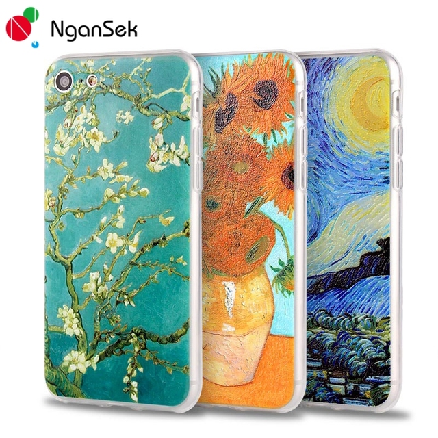 coque iphone 7 van gogh