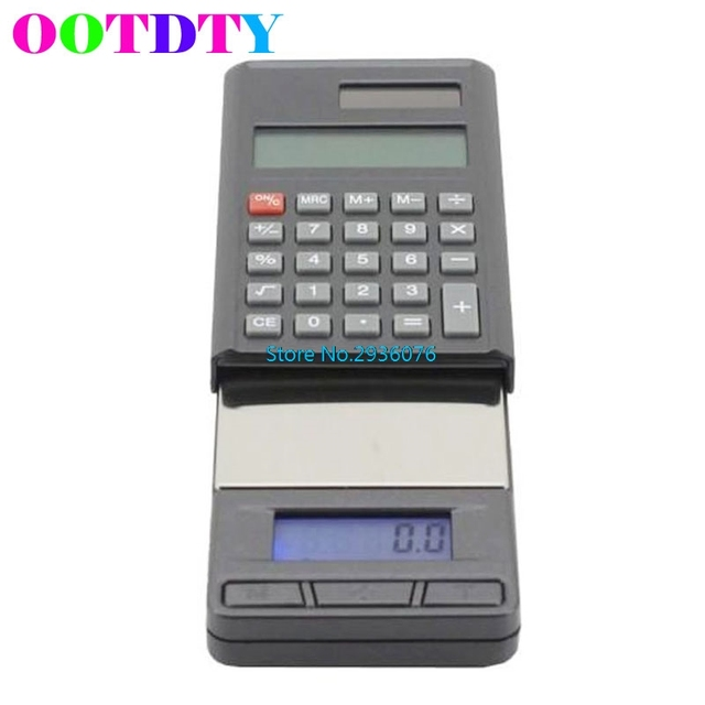 2 in 1 Electronic 1000g/01g Jewelry Digital Scale Weight Balance
