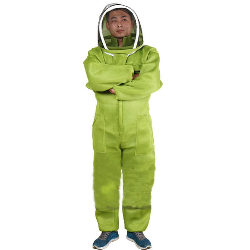 Beekeeping Suit For Bee Keeper Professional Equipment Air Conditioning Clothing Protective Beehive Breathable Anti Bee