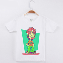 Summer Popular Children T-shirt Top Cotton Star Punk Funny Shirt Short Sleeve Boys T shirts Kids Clothes Girls Tops Clothing t shirts frutto rosso for girls and boys sm117k021 top kids t shirt baby clothing tops children clothes
