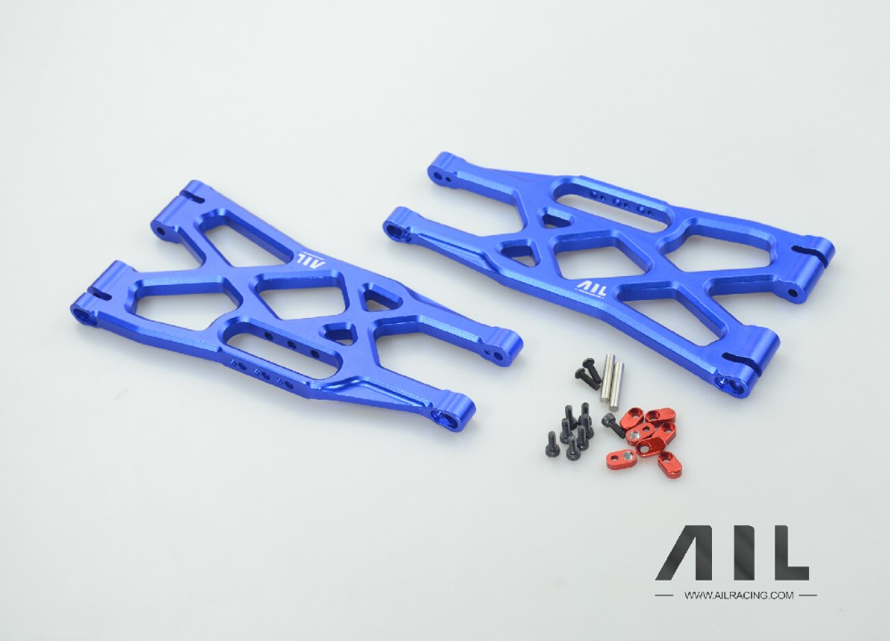 Aluminum Alloy upgrade OP arm and lower arm A arm metal arm FOR 1/5 Traxxas X MAXX area rc alloy suspension arm for traxxas x maxx 1 5