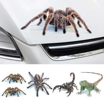 3D Spider Lizard Scorpion Car Sticker Vehicle Window Mirror Bumper Decal Decor Car stickers 1