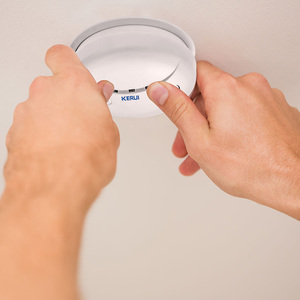 Image 4 - KERUI Wireless Fire Protection Smoke Detector Portable Alarm Sensors For Home Security Alarm System In Our Store