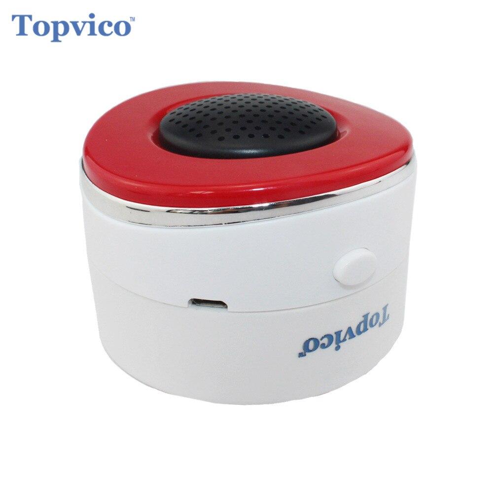 Topvico Z-vague Sans Fil Sirène D'alarme Capteur Détecteur Zwave Z vague Maison Sécurité Smart Domotique Système D'alarme de Sécurité