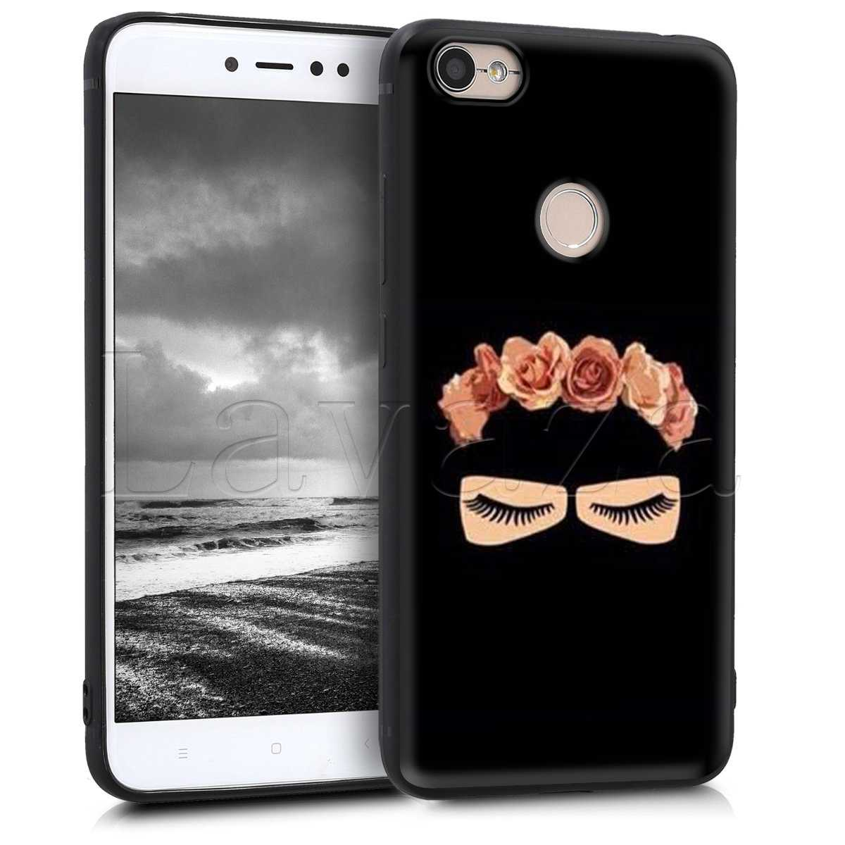 Lavaza Islâmico Muçulmano Gril Olhos Caso para Xiaomi Redmi Nota 4 4X 4A 5 5A 6 6a 7 Pro Go prime Plus