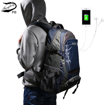 2018 Men Women Fashion Printing Large Capacity Backpacks Male Waterproof Rain Cover Casual Multifunction Travel Bags