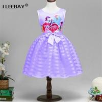 Summer 2016 My Littl Poni Dresses Girls Pony Clothing Flower Kids Dresses For Girl Wedding Party