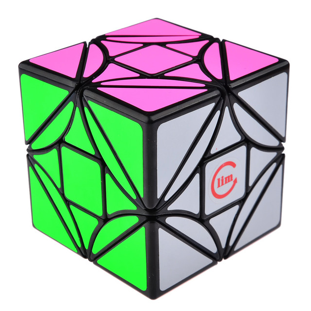 Brand New Fangshi Funs Limcube 6.5cm 3x3 Dreidel Simple Version Magic Cube Puzzle Cubes Educational Toy Special Toys