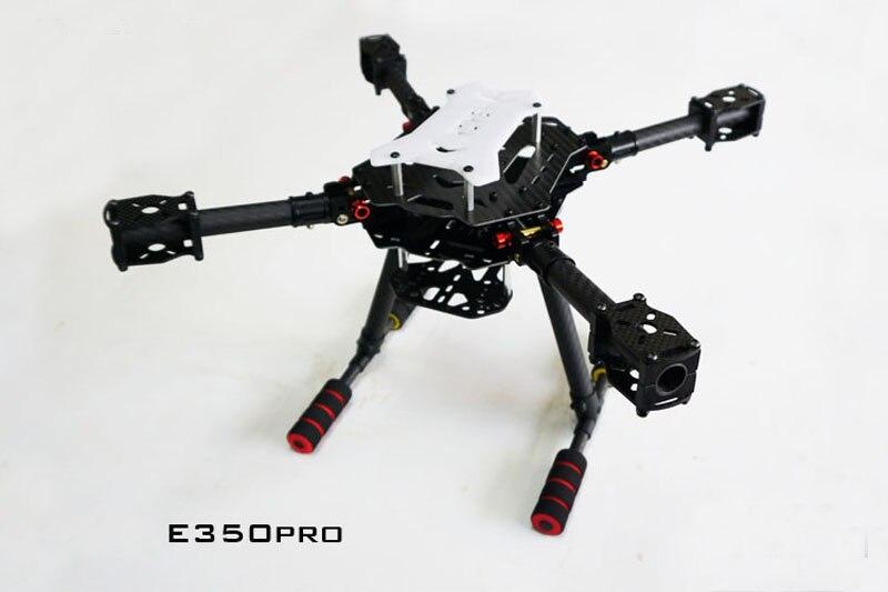 1PCS E350PRO Carbon Fiber Foldable Quadcopter Frame Aerial Photography X4 X8 DIY Parts for FPV RC Model Aircraft Frame tator rc x4 x8 quad x6 hexa copter carbon fiber main plate upper cover board tl4x006 tl6x003 tl8x019