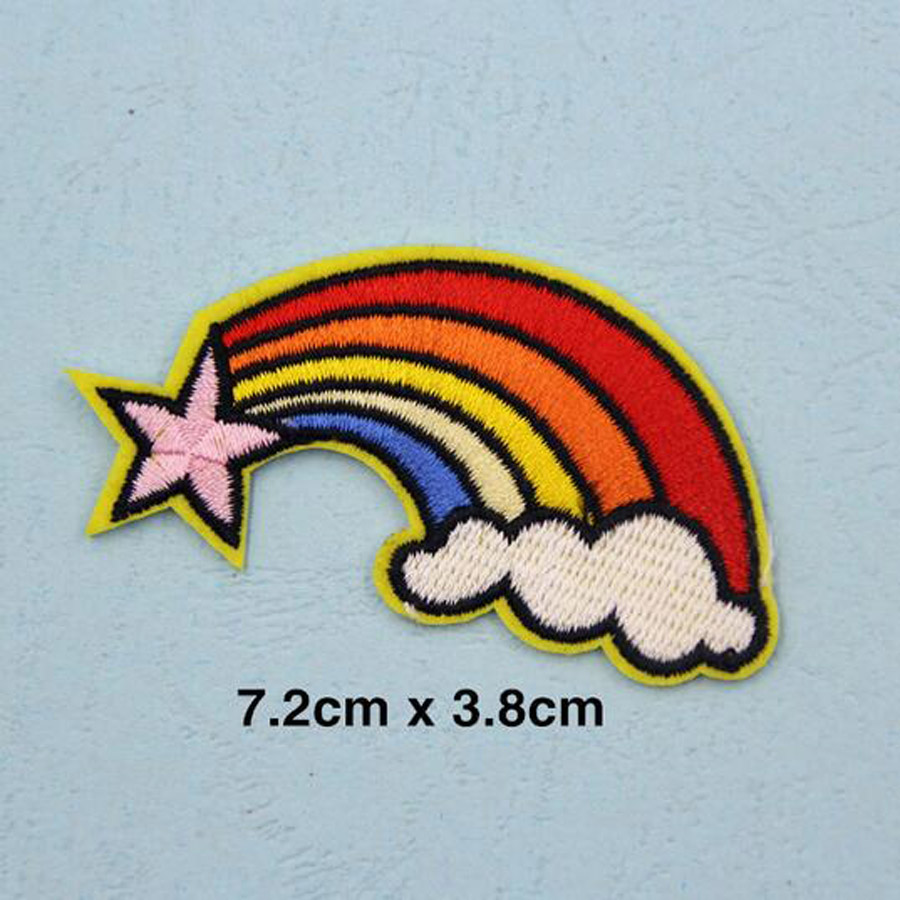 Cool Craft Embroidered Patches For Hat Cap Clothes Stickers Bag Sew Iron On Applique DIY Apparel Sewing Clothing Accessories BU8 in Patches from Home Garden