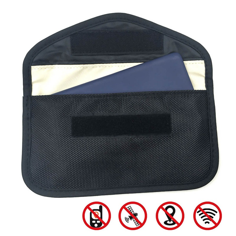 Wallet-Case Pouch Blocking-Bag Signal Faraday-Bag Car-Fob-Signal-Blocker Shielding