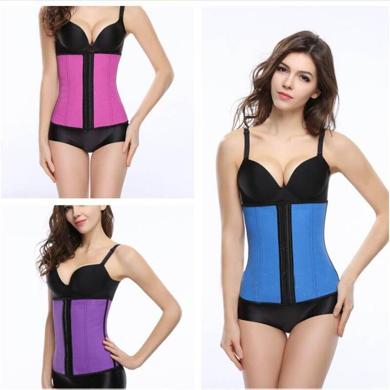 50 pcs lot D été Respirant taille corsets aigrefins corps shapers taille  formateur latex serre-taille Ceinture Shapers Minceur a7a75498937