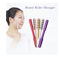 Facial Massage Roller Double Heads Germanium Stones Face Lift Hands Body Skin Relaxation Slimming Beauty Health Care