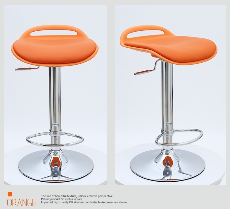 North American fashion coffee chair white black stool free shipping north american fashion bar stool barber stool retail and wholesale yellow red orange white black free shipping
