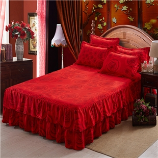 Double bed bedspread  three piece cover  bedding bedset home bedline
