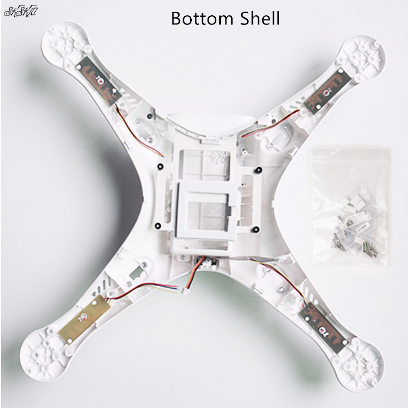 Drone Body Shell Repair Spare Parts Top Bottom Protection Cover For DJI Phantom 3 Advanced / Professional Edition Accessories