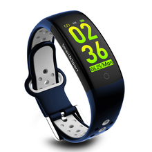 Q6S Smart Wristband IP68 Waterproof Sport Men Bracelet Blood Pressure Color Screen Watch Fitness Tracker Pedometer Calorie