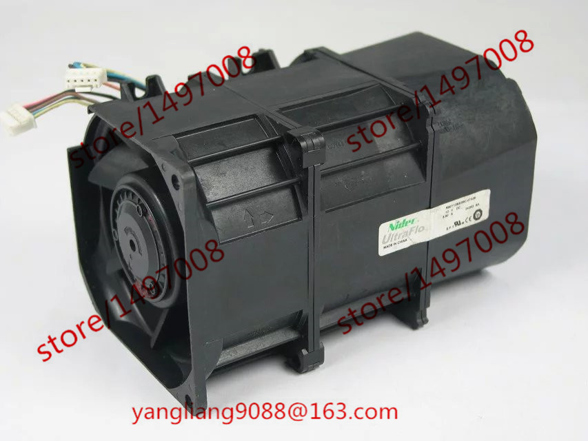 Free Shipping For Nidec R80Y12BS2MC-07A05 DC 12V 5.50A 10-wire 10-pin 60mm 80x80x130mm Server Square Cooling Fan mitsubishi 100% mds r v1 80 mds r v1 80