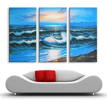 Hand Painted oil painting on canvas modern Best Art Seascape oil painting directly from artist SE-049