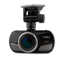 D201 A12 Coche DVR de Ambarella Cámara Del Coche con Super HD 1440 P 2.7 pulgadas de Pantalla de 170 Grados Ángulo de Visión Rociada Leva GPS Logger opcional