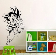 New arrival Comics Art cartoon characters Dragonball Goku Wall Decal Sticker home decoration Waterproof wall stickers