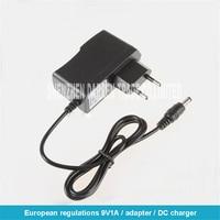 20pcs AC 100V 240V adattatore convertitore DC 9 V 1A Power Supply EU Plug DC 5.5mm x 2.1mm 1000mA