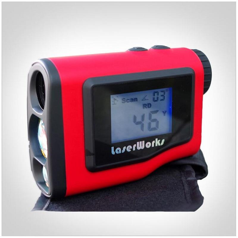 1000M Golf Laser font b Rangefinder b font Laser Distance Meter With External LCD Display for