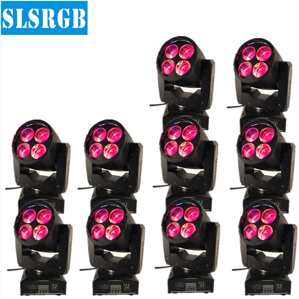 10PCS/LOT China dmx 4x10w rgbw super beam mini led moving head light Dj lights super beam lights rgbw 4x10w disco Dmx Led Mini