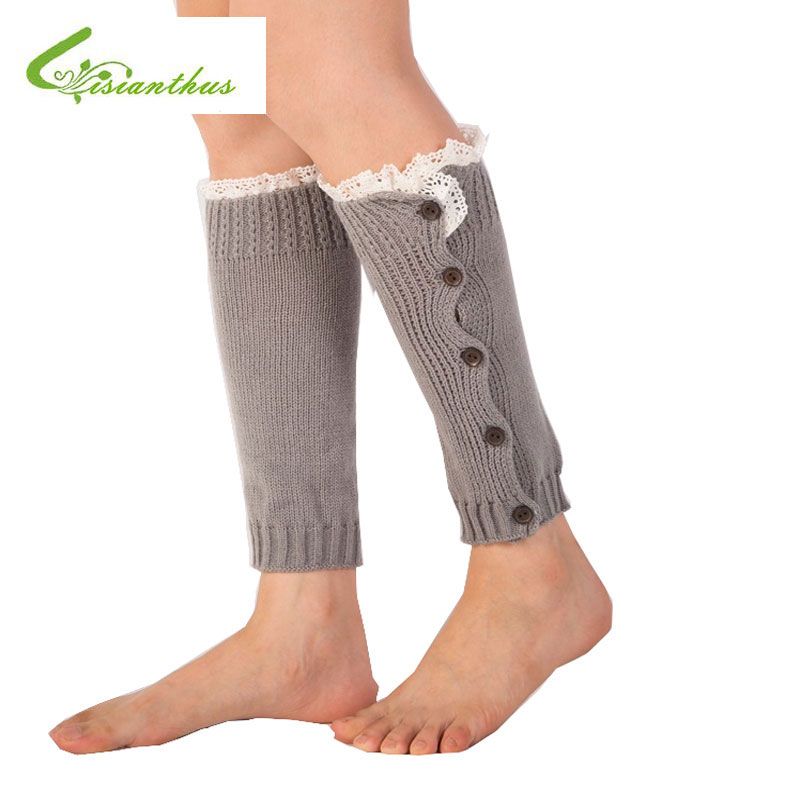 1 par niños bebé Calentadores para piernas rodilla moda de invierno ...