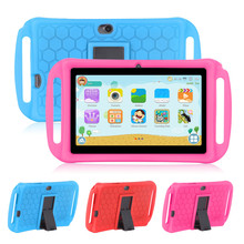 Portable Xgody 7 inch kids tablet for children Android 8.1 Ocat Core 1GB 8GB HD Dual Camera New Tablet PC tablets for kids 7 inch quad core kids tablet pc designed for children educational android 4 4 preloaded educational apps and games free shipping