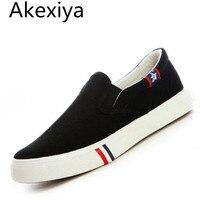 Akexiya 2017 New Breathable Men's Espadrilles Promotion Men Canvas Shoes Fashion Man Flat Shoes Male Shoes Large Size 11 12 13