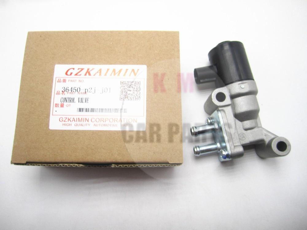 TOP Quality NEW  Idle Speed Motor Idle Air Control Valve IACV  36450-P2J-J01 36450P2JJ01 For Honda Civic