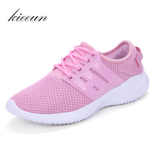 KIEEUN lightweight breathable Women's Running shoes Sports Outdoor Sneakers Women shoes For Best Trends Run Athletic size 35-40