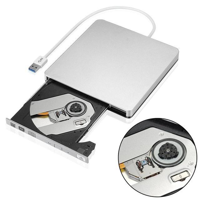 Gravador de DVD Externo portátil USB 3.0 Externo de DVD RW DVD CD Rw Burner Gravador de DVD Drive Para O Portátil Notebook