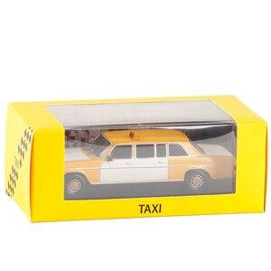 Image 3 - Высококачественная модель из ливанского сплава такси 1:43 1970, модель из металлического литья под давлением, коллекционное и Подарочное украшение, бесплатная доставка