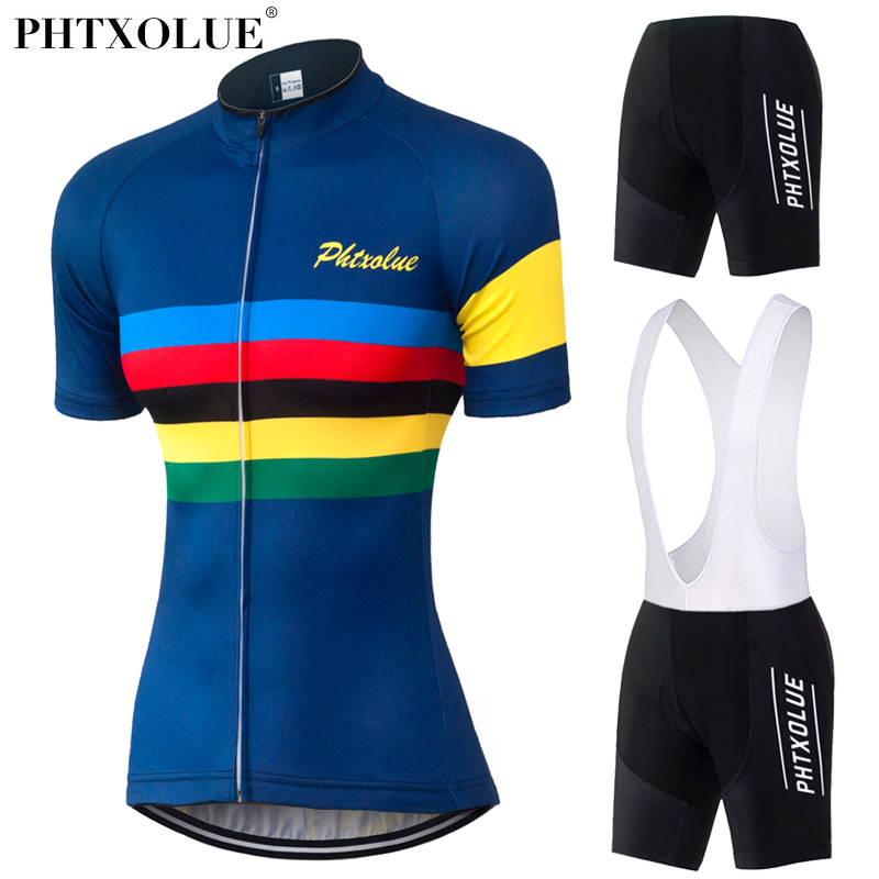Phtxolue Women Team Cycling Clothing 2019 Maillot Ciclismo Breathable Bike Bicycle Wear Cycling Jersey Set QY0338Phtxolue Women Team Cycling Clothing 2019 Maillot Ciclismo Breathable Bike Bicycle Wear Cycling Jersey Set QY0338
