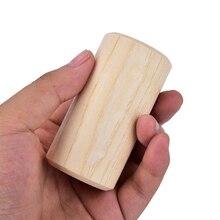 Maraca маленький цилиндрический шейкер ритмический инструмент подарок для детей, дети, ребенок Ранние образовательные ударные 7*3,5*3,5 см