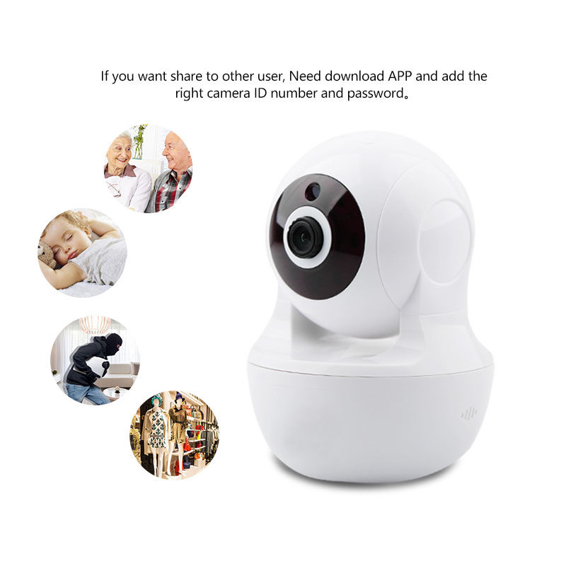 PTZ Camera 1080P Baby Monitor Wireless Dome Ip Camera Two Way Audio With Infrared Smart Camera Security Pan-tilt Cctv Camera