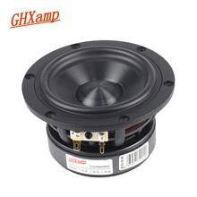 GHXAMP Diamond Ceramic 4 inch 120MM Woofer Mid Bass Speaker Units 4Ohm HIFI Large Magnetic Steel 30 50W 74 8000HZ DIY 1PC